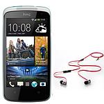 HTC Desire 500 Blanc + Beats urBeats OFFERT !