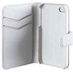 xqisit Etui Wallet Slim Blanc iPhone 4/4S Blanc
