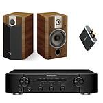 Marantz PM5004 Noir + Focal Chorus 705 V Cigar (par paire) + Focal Universal Wireless Receiver - aptX
