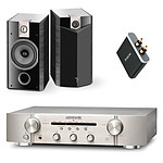 Marantz PM6005 Silver/Gold + Focal Chorus 806 V Ebony (par paire) + Focal Universal Wireless Receiver - aptX