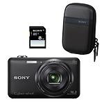 Sony Cyber-shot DSC-WX80B Pack Noir