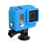 XSories Silicone Cover Hero3+ Bleu