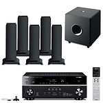 Yamaha RX-V775 Noir + 5 Focal Sib XL Jet Black + Focal Cub 3 Jet Black