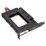 Adaptateur Hot Swap pour 1 SSD 2.5'' sur slot PCI