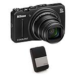 Nikon Coolpix S9700 Noir + Nikon CS-S59 Noir
