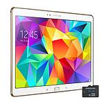 """Samsung Galaxy Tab S 10.5"""" SM-T800 16 Go + microSDHC 16 Go"""