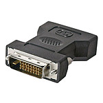 Adaptateur DVI-D Mâle / DVI-I Femelle