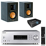 Pioneer SX-20-S + Klipsch RB-41 MKII + Real Cable iPlug-BTR
