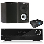 Harman Kardon HK3700 + Jamo S 622 Black Ash + Real Cable iPlug-BTR