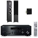 Yamaha R-N500 Noir + JBL ES80 Black + Advance Acoustic WTX 500