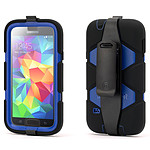 Griffin Survivor Beltclip Noir&Bleu Galaxy S5