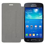 Swiss Charger Etui Folio Noir Samsung Galaxy Core 4G