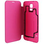 xqisit Etui Flip Batterycase Rose pour Galaxy S5