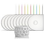 3D Systems 391162 - Cartouche ABS Blanc pour imprimante 3D