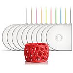 3D Systems 401408-01 - Cartouche ABS Rouge pour imprimante 3D