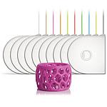 3D Systems 391149 - Cartouche PLA Rose magenta pour imprimante 3D