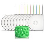 3D Systems 391156 - Cartouche PLA Vert phosphorescent pour imprimante 3D