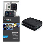 GoPro HERO 3+ : Black Edition - Motorsport + XSories Capxule Small Soft Case Noir