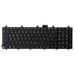 Clavier rétroéclairé pour PC portable LDLC Bellone XA3/XM3/XM4/GG5/BK3A (Allemand)