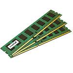 Crucial 12 Go (3 x 4 Go) DDR3 1600 MHz ECC CL11