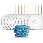 3D Systems 391141 - Cartouche ABS Bleu phosphorescent pour imprimante 3D