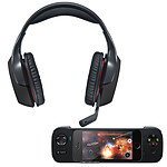 Logitech G930 Wireless Gaming Headset + Logitech PowerSheel Controller
