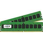 Crucial DDR4 16 Go (2 x 8 Go) 2133 MHz CL15 ECC Registered SR X4