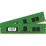 Crucial DDR4 8 Go (2 x 4 Go) 2400 MHz CL17 ECC Registered SR X8