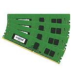 Crucial DDR4 16 Go (4 x 4 Go) 2400 MHz CL17 ECC Registered SR X8