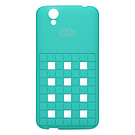 Wiko Coque Damier Turquoise Wiko Birdy