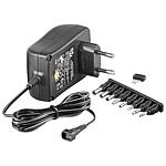 Transformador de alimentación eléctrica de 3 V-12 V y 2,25 A