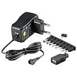 Transformador de alimentación eléctrica de 3 V-12 V y 0,6 A