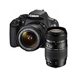 Canon EOS 1200D + Objectif EF-S 18-55mm IS II + Tamron AF 70-300mm F/4-5,6