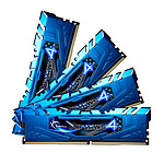 G.Skill RipJaws 4 Series Bleu 16 Go (4x 4 Go) DDR4 3000 MHz CL15