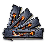 G.Skill RipJaws 4 Series Noir 32 Go (4x 8 Go) DDR4 3000 MHz CL15