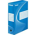 Esselte 25 boîtes à archives Vivida dos 10 cm Bleu