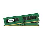 Crucial DDR4 32 Go (2 x 16 Go) 2400 MHz CL17 DR X8