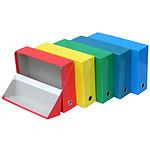 Fast Lot de 5 boites transfert pelliculées couleurs assorties 11002ASX5