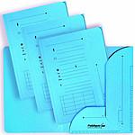 ELBA Lot de 25 sous dossiers HV ultimate bleu 23.5 x 31.5 cm 2 rabats 240g