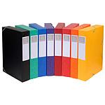 Exacompta boites de classement Cartobox dos 60 mm Assortis x 10