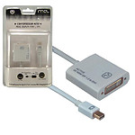 Adaptateur actif Mini DisplayPort mâle / DVI-I femelle (compatible 4K et 3D)