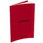 Conquérant Cahier 96 pages 17 x 22 cm seyes grands carreaux Rouge