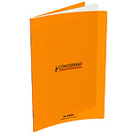 Conquérant Cahier 96 pages 210 x 297 mm seyes grands carreaux  Orange