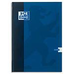 Oxford Cahier 192 pages 210 x 297 mm Seyes grands carreaux  Bleu