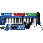 PreSonus Music Creation Suite : AudioBox USB + clavier + casque HD3 + micro M7 + câbles + Logiciels