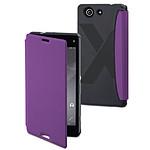 Made for Xperia Etui Easy Folio Violet pour Xperia Z3 Compact