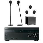 Sony STR-DN1050 + Cabasse pack Eole 3 5.1 Noir