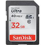 SanDisk Carte mémoire SDHC Ultra UHS-1 32 Go