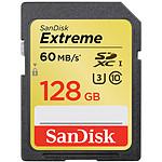 SanDisk Carte mémoire SDXC Extreme UHS-1 128 Go
