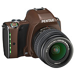 Pentax K-S1 Chocolat + Objectif DAL 18-55 mm